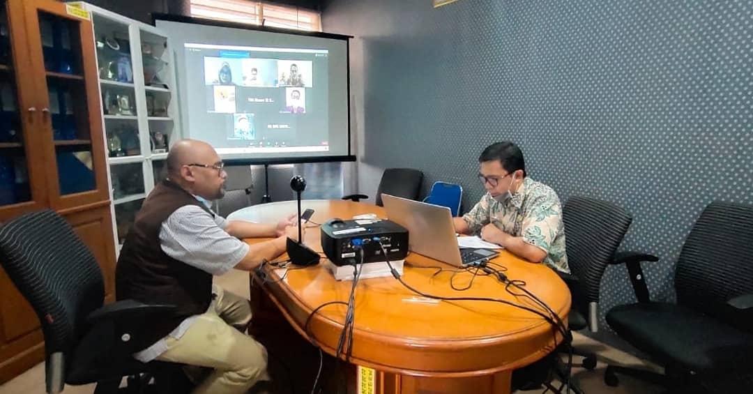 Monev Penilaian Persentasi Komisi Informasi Publik Provinsi Banten Tahun 2020