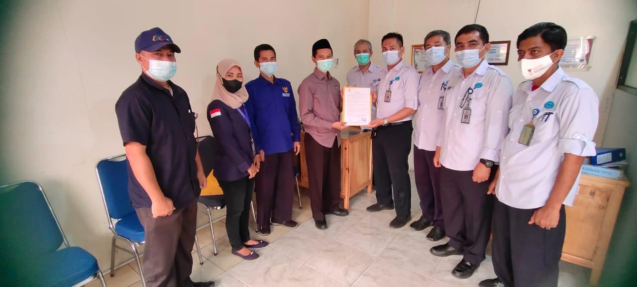 Visitasi Monev 2021 Komisi Informasi Provinsi Banten Atas Self Assessment Questionnaire (SAQ) dan Pemantauan Website Dalam Rangka Pemeringkatan Badan Publik Tingkat BUMD se- Provinsi Banten