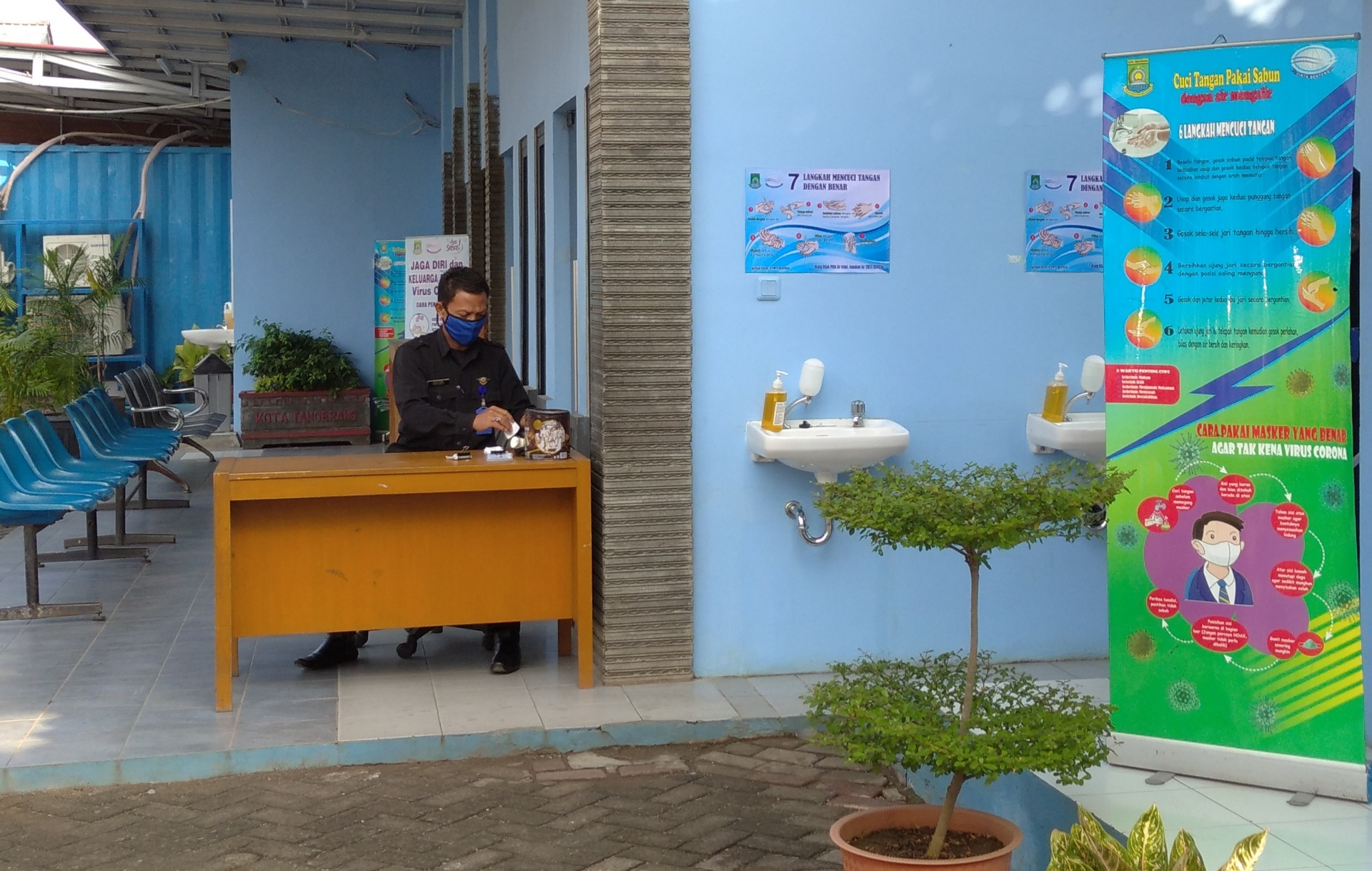 Gerak Cepat Satgas Pencegahan Covid di Lingkungan PDAM TB Kota Tangerang