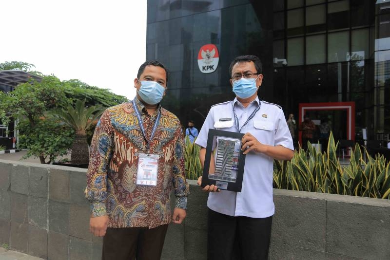 Pemkot Tangerang Raih Apresiasi Dana Insentif Daerah (DID) dari KPK