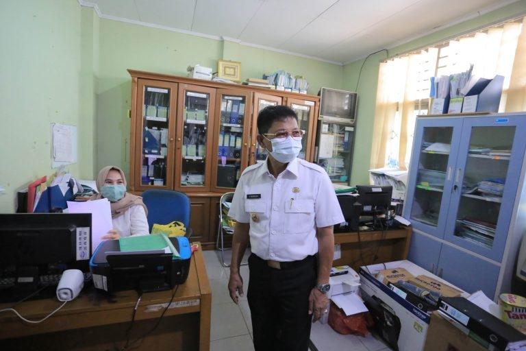 Antisipasi Penyebaran Covid-19 Sachrudin Sidak PDAM TB