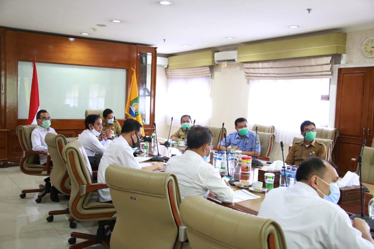 Pemkot Tangerang Respon Positif Kerjasama Proyek KPBU SPAM Karian-Serpong