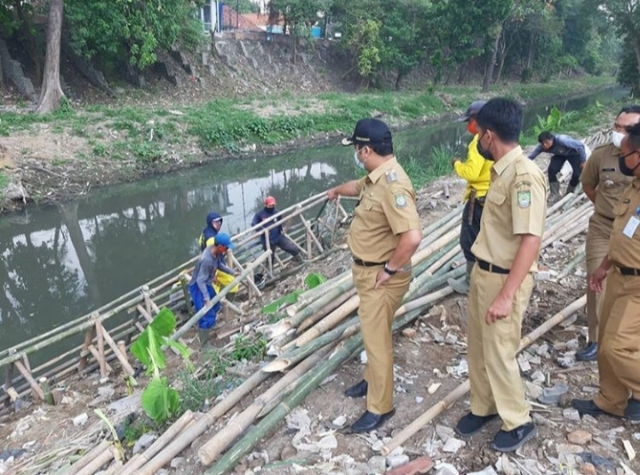 Kali Mookervart Kota Tangerang di Normalisasi