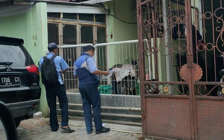 Petugas Cater PDAM TB Kembali Lakukan Pencatatan Meter ke Rumah Pelanggan
