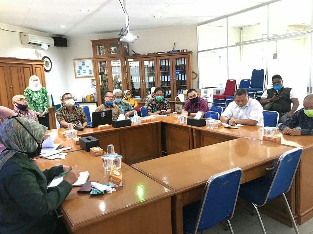 Kunjungi PDAM TB Pasca Longsor TPA Cipeucang, Dewan Tangsel Minta Maaf