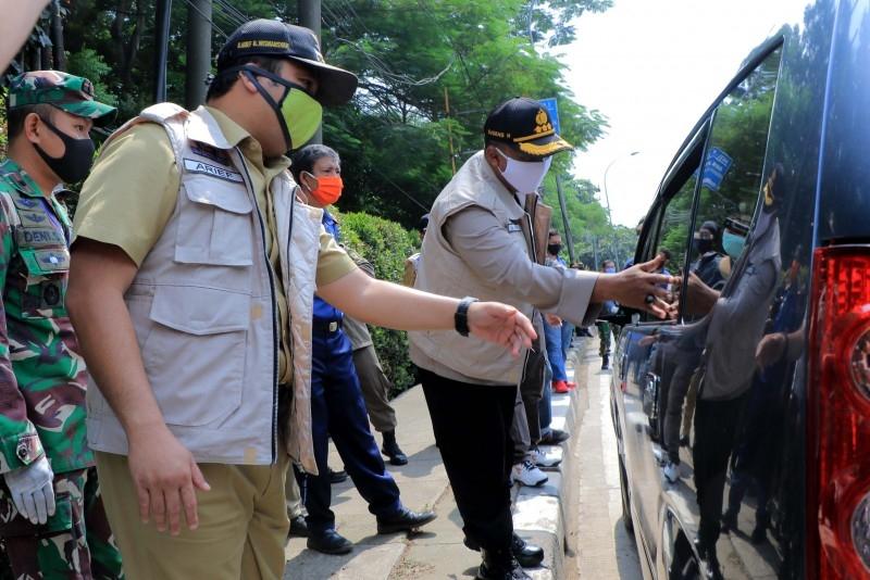 Diperpanjang PSBB di Kota Tangerang Hingga 15 Mei