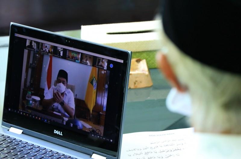 Lewat Video Conference Pemkot Tangerang Gelar Tarhib Dzikir Sambut Puasa Ramadhan 1441 H