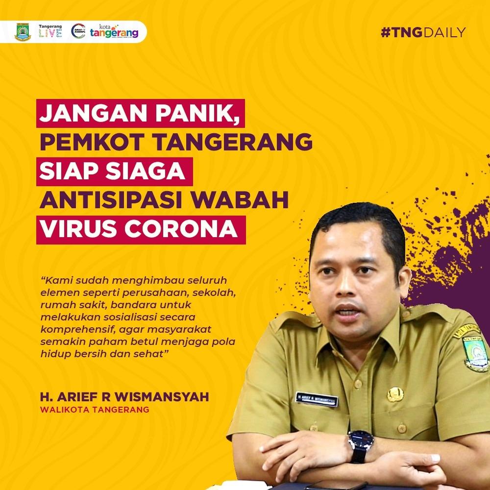 Walikota Tangerang: Butuh Kedisiplinan Warga dalam Pemberlakukan PSBB