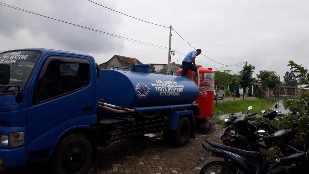 PDAM TB Pastikan Pelayanan Air Minum Tetap Maksimal Jelang Penerapan PSBB di Kota Tangerang